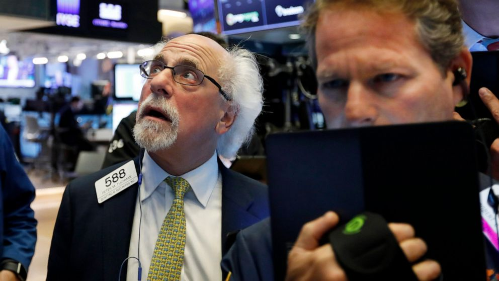 Stocks indexes edge higher to finish off a wobbly week