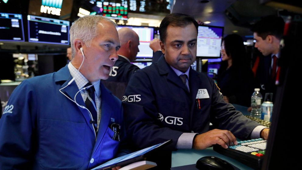 Stocks mostly rise as investors push to break losing streak