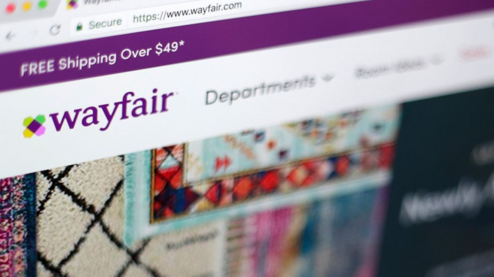 Wayfair workers protest contract with detention center