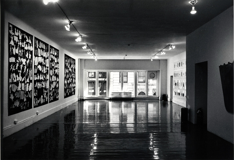 "Installation view of ""Pictures,"" 1977, at Artists Space, New York. ©D. JAMES DEE/COURTESY ARTISTS SPACE, NEW YORK"