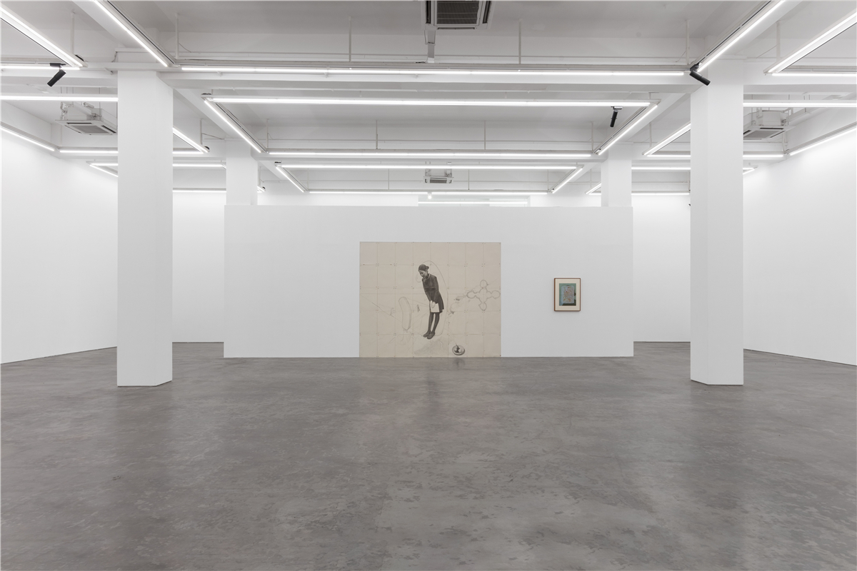 Installation view of Zhang Hui