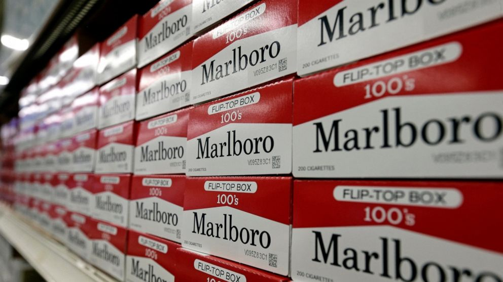 Altria shares fall on weaker outlook for cigarettes