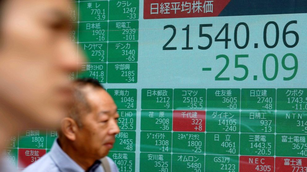 Asian markets mixed, pausing ahead of Fed chief testimony