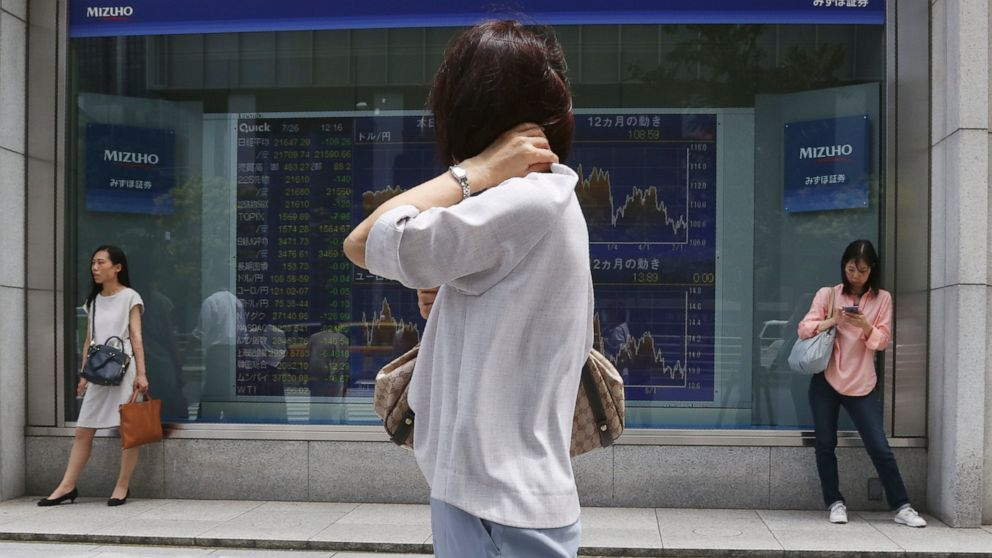 Asian shares fall ahead of US-China trade talks