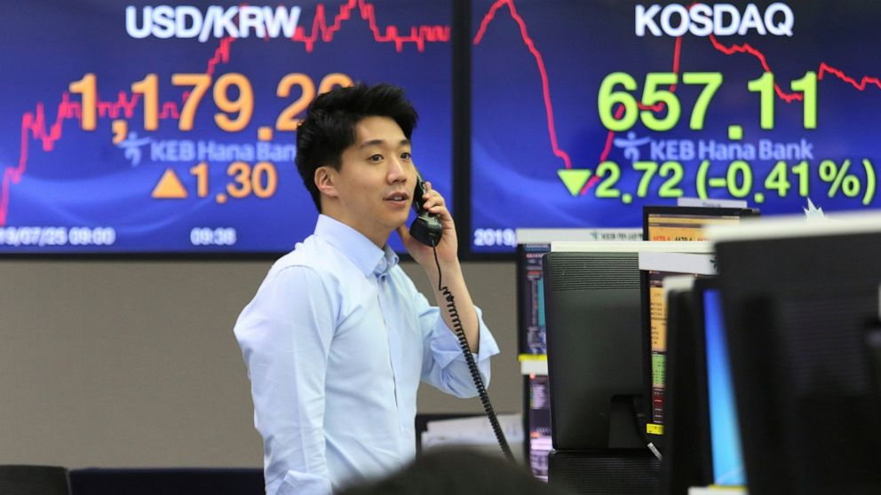 Asian shares higher, Korean Kospi falls after missile launch
