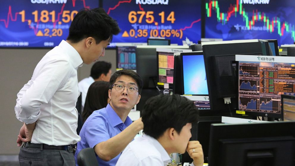 Asian shares mixed in lackluster trading, Nikkei falls 0.6%