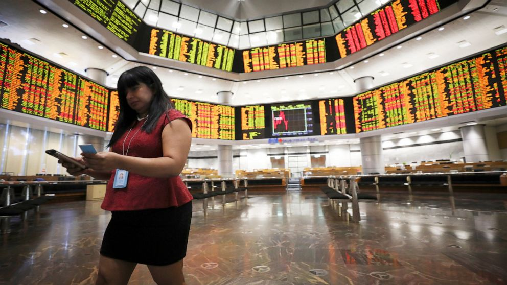 Asian shares mostly retreat ahead of Fed statement