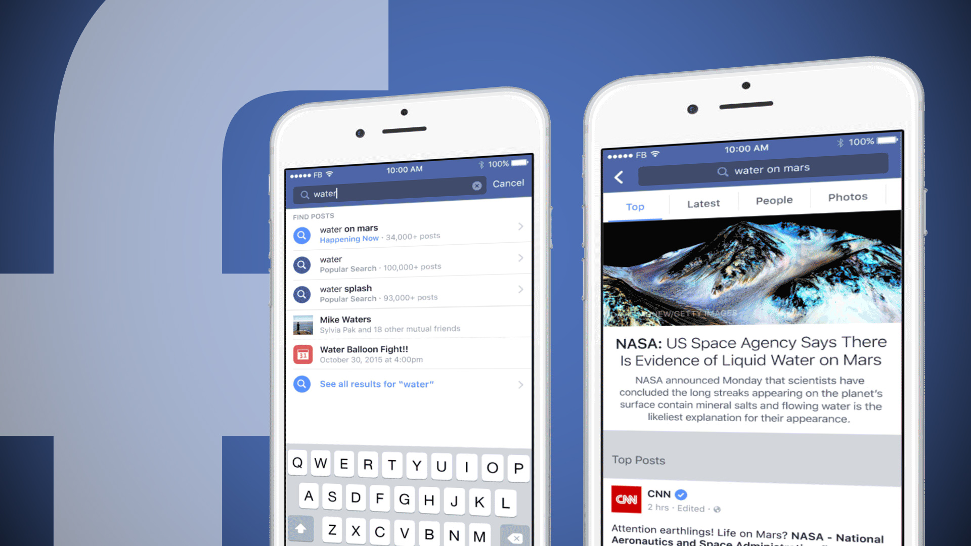 Facebook's search ad test is extending to more accounts