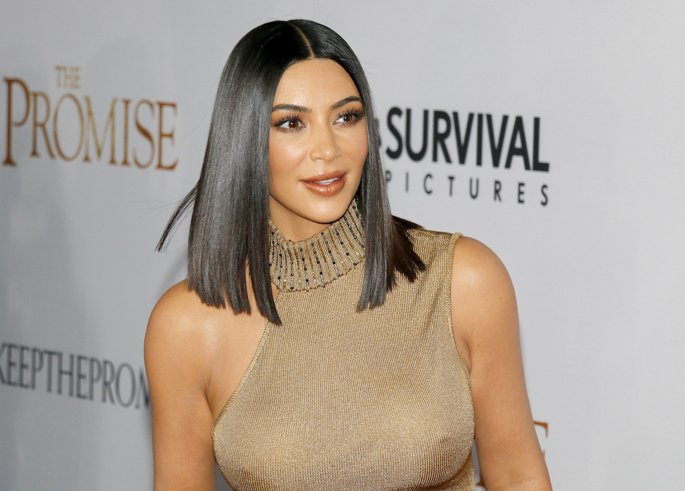 Kim Kardashian West in 2017