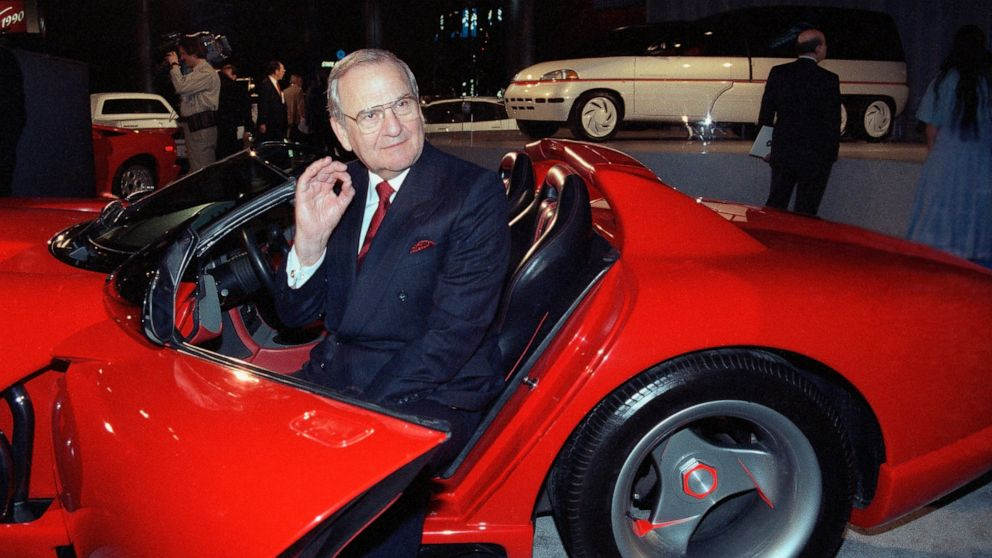 Lee Iacocca, engineer of Chrysler's turnaround, dies at 94