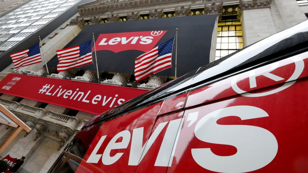 Levi Strauss 2Q profit drops on IPO costs, revenue rises