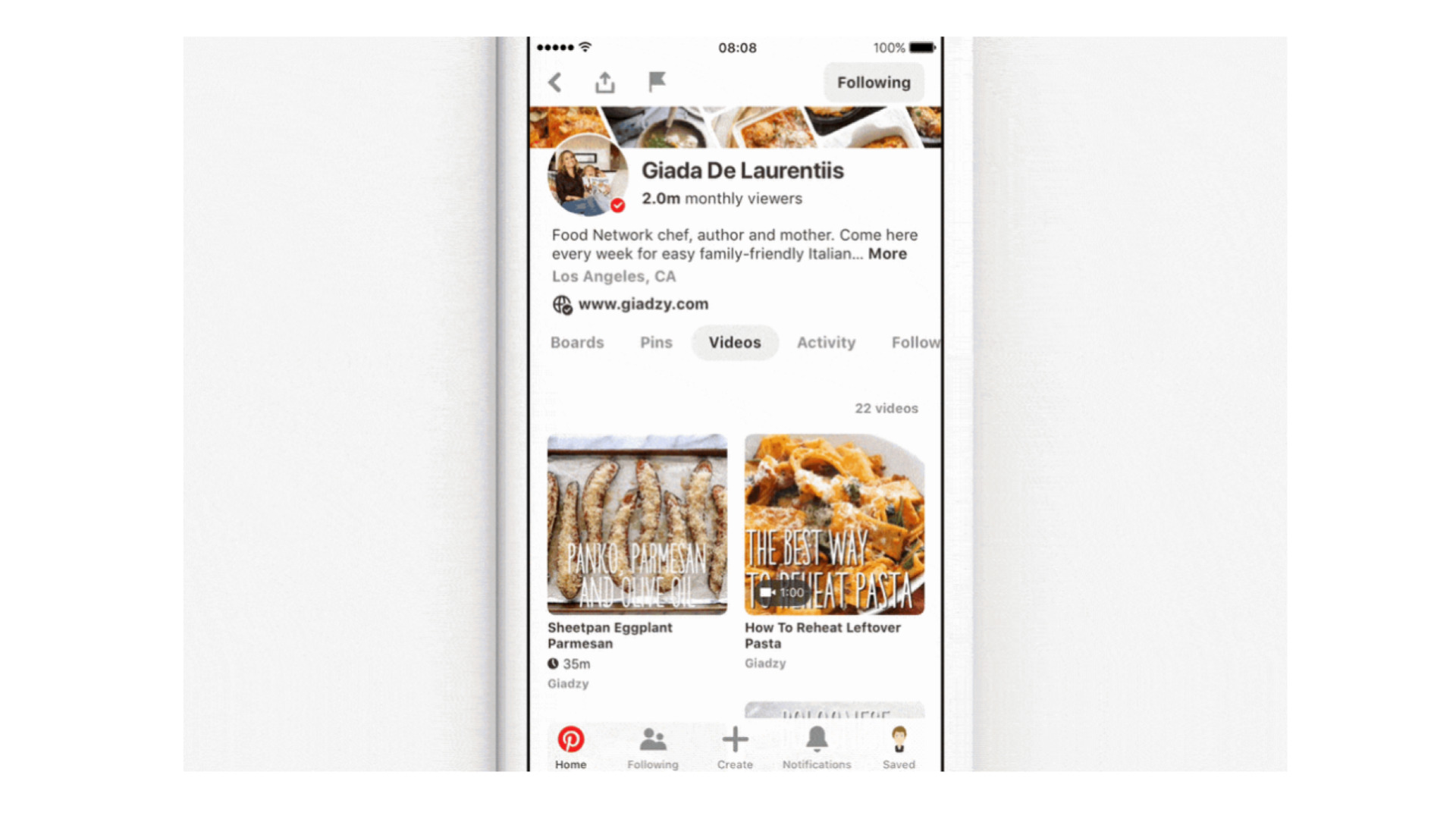 Pinterest unveils new video capabilities for brands