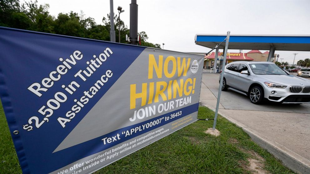 Survey: Modest job gains in June hint at slowing economy
