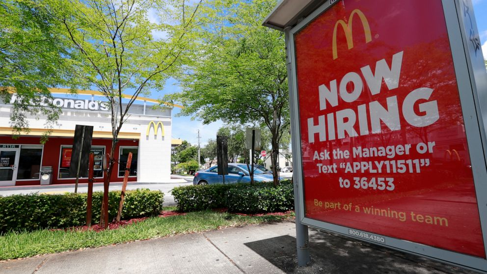 US job openings fell 0.7% in May