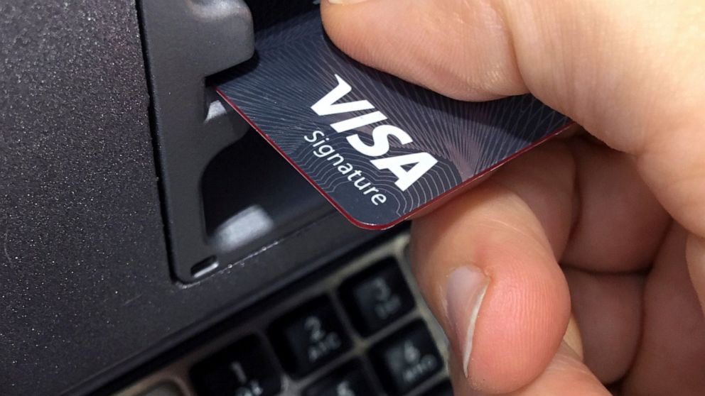 Visa Inc. 3Q profits rise 11%, beating expectations