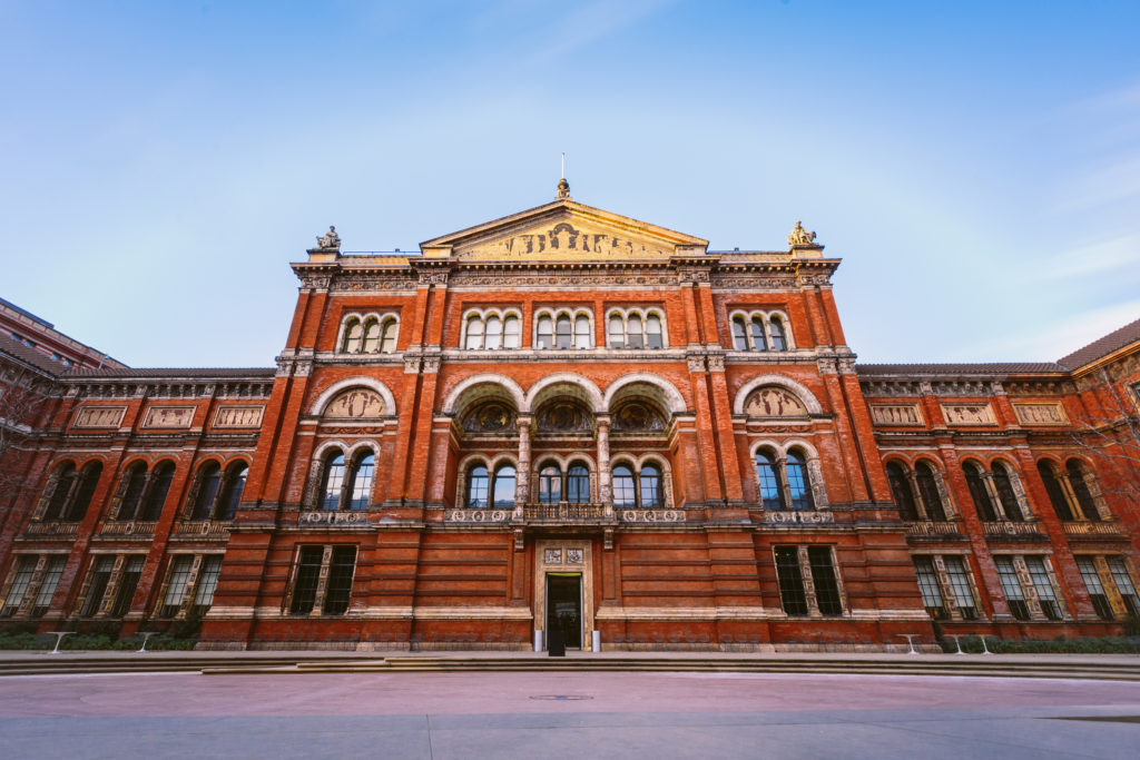 The Victioria & Albert Museum.