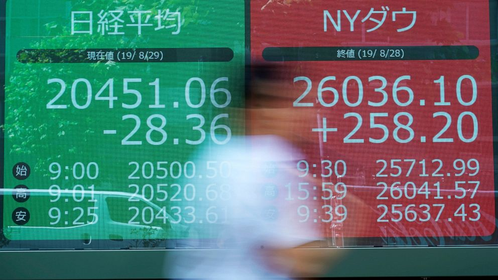 Asian markets sink on uncertainty after Wall Street recovery