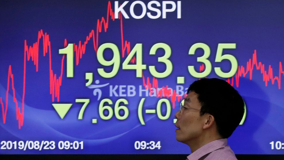 Asian stocks mostly higher ahead of US Fed chairman's speech
