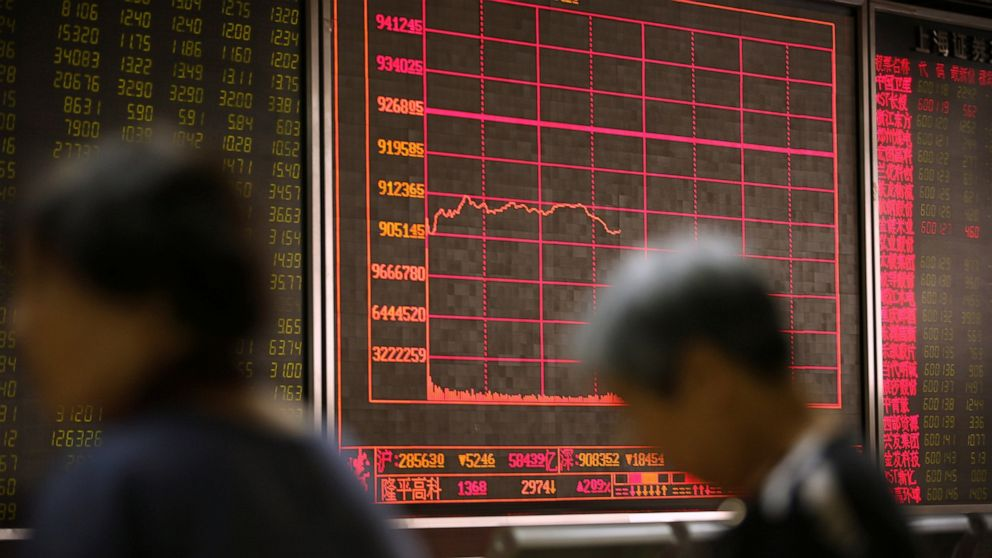 Asian stocks plunge on US-China trade war worries