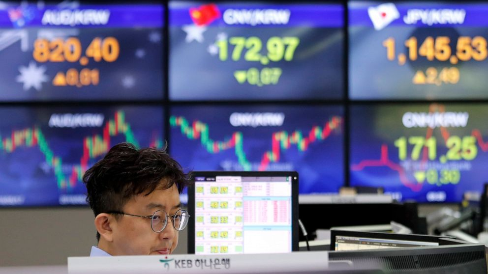Asian stocks rebound after volatile Wall Street day