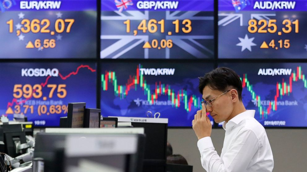 Global shares decline as trade war worries worsen