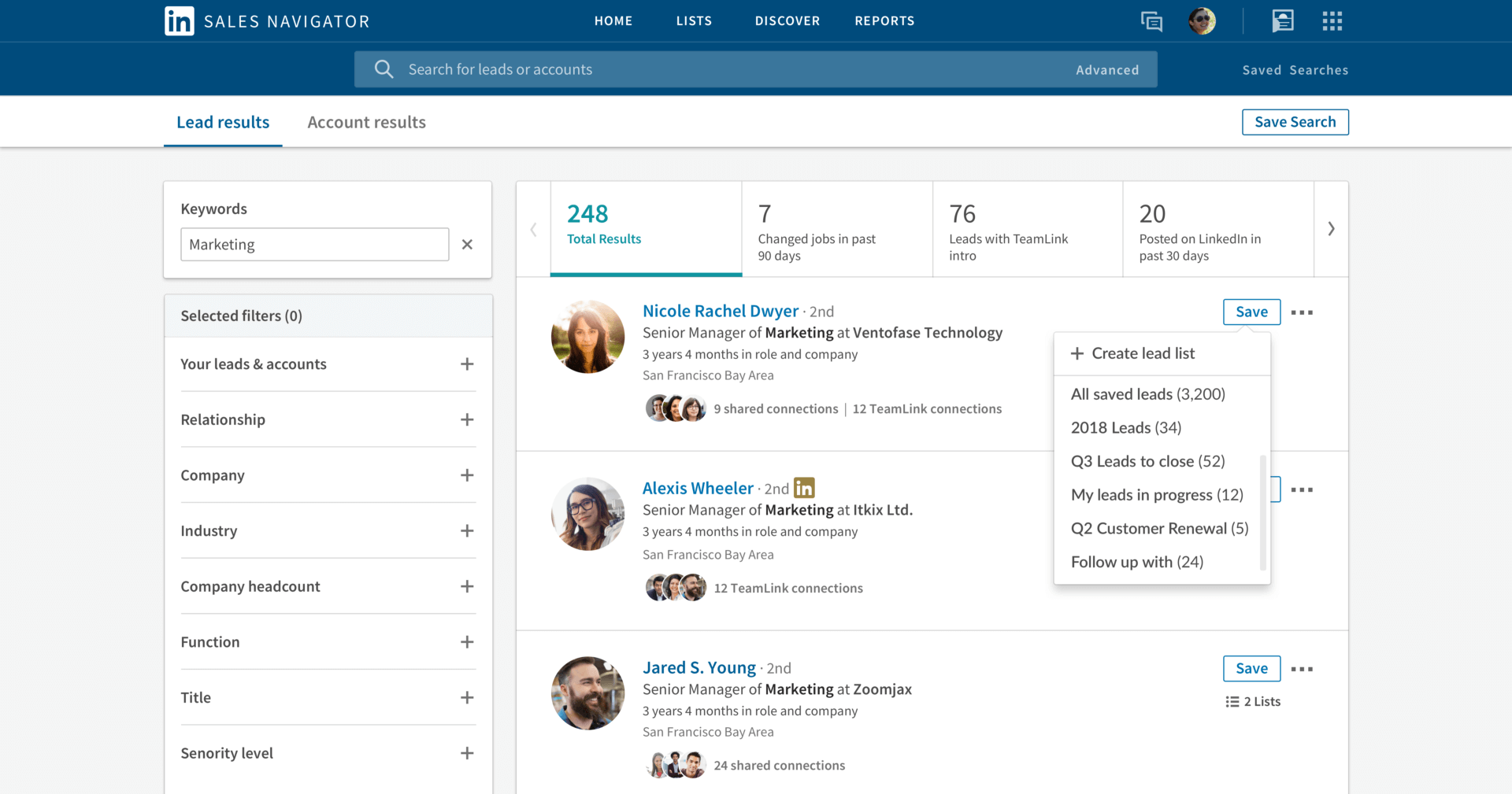 LinkedIn Sales Navigator will now surface more content for sales teams to share