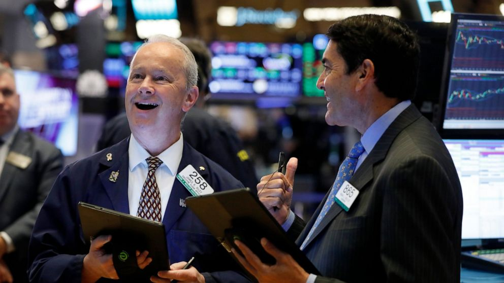 Solid earnings reports push US stock indexes broadly higher