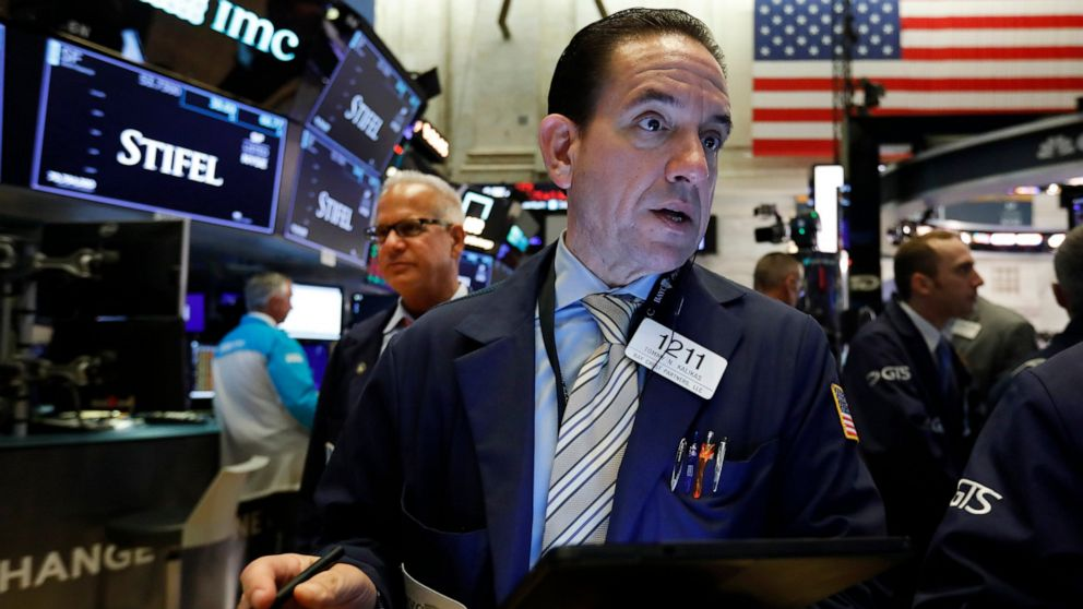 Stocks edge lower to put market on track for weekly loss