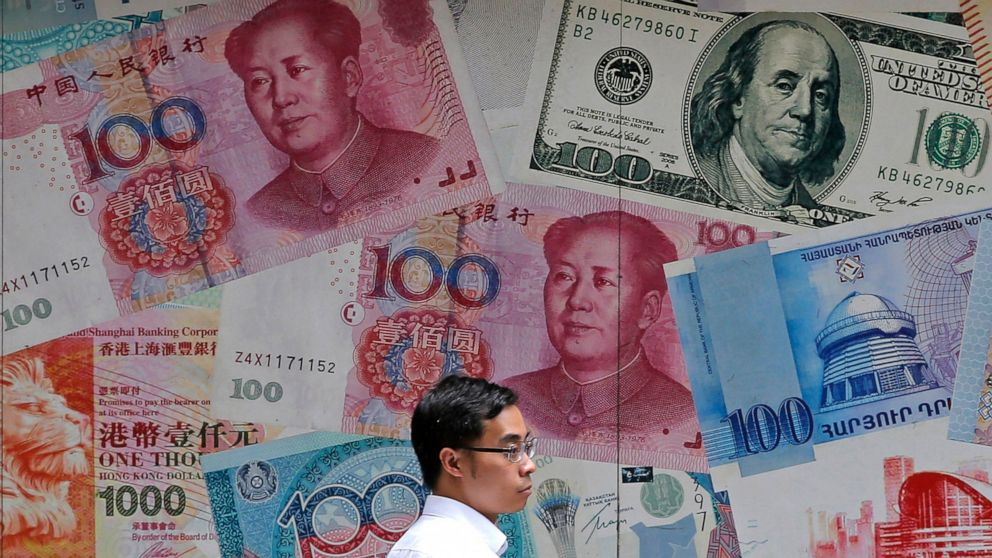 Trump accuses China of manipulating currency as yuan weakens