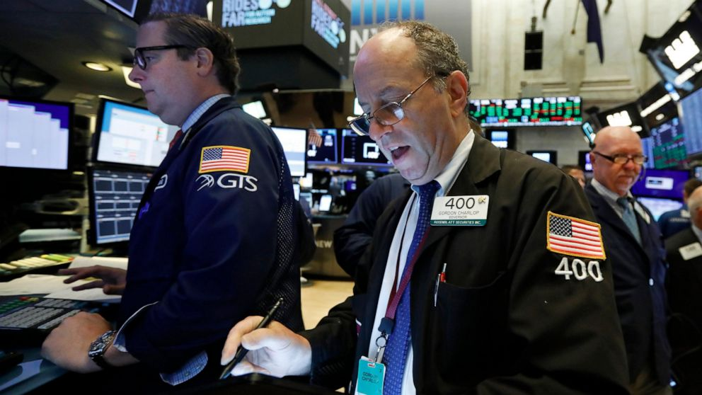 US stocks fall, giving up some ground after 3 straight gains