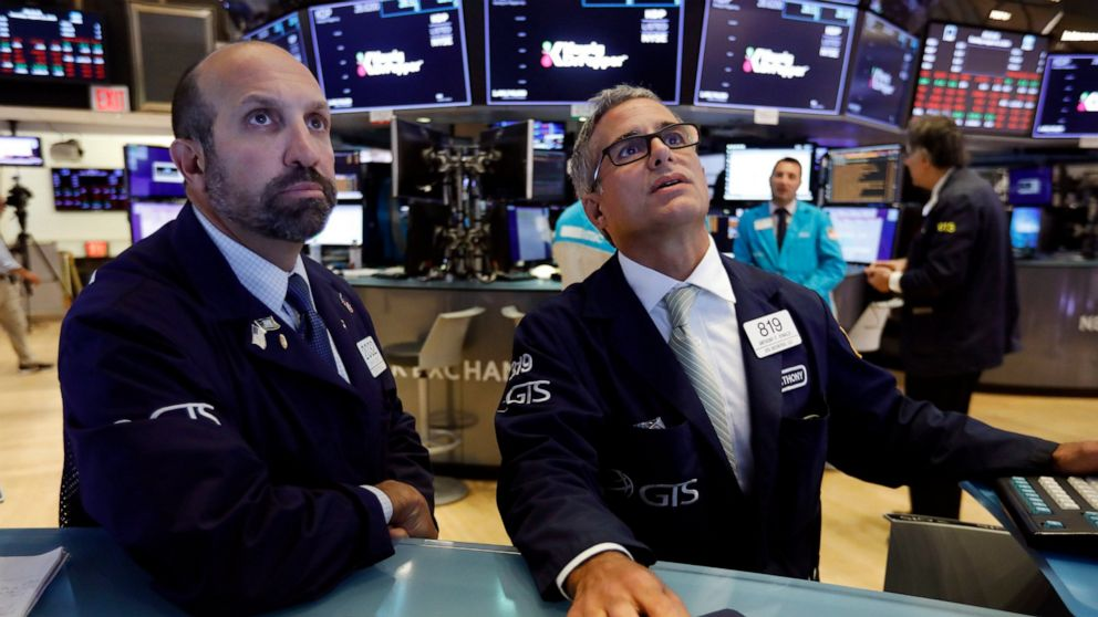 US stocks steady after plunge, but caution still reigns