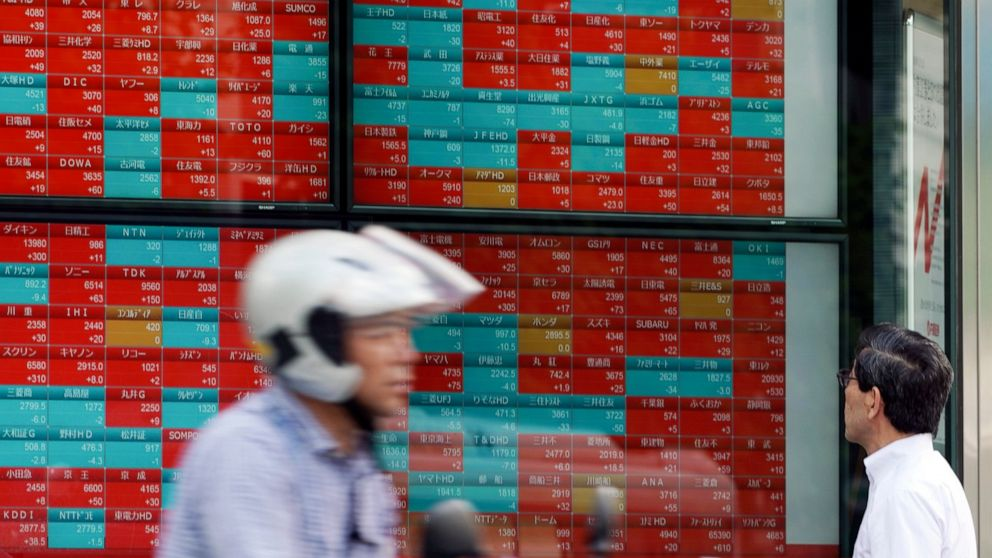 Asian shares mixed after China eases trade tensions