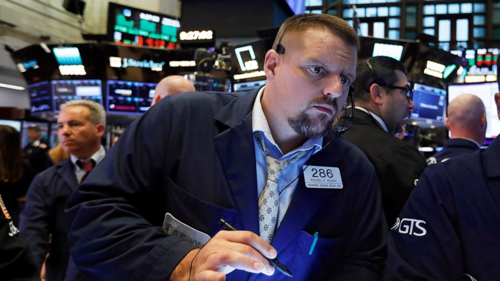 Banks, AT&T nudge US stocks broadly higher in early trading