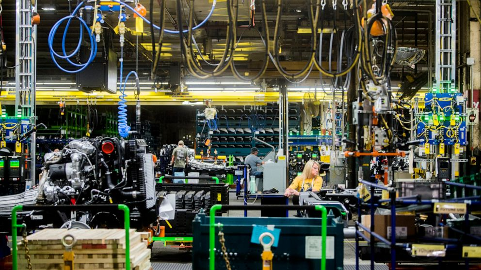 Survey: US manufacturing activity contracted in August