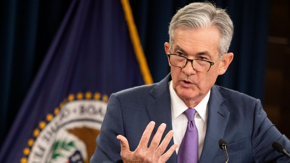 The Latest: Trump attacks Federal Reserve in tweet