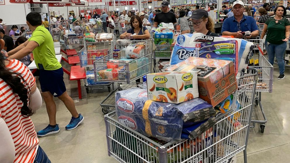 US consumer prices up slight 0.1% in August