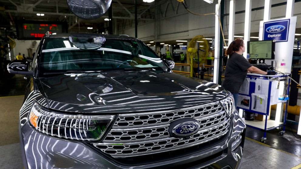 US factory production rose at healthy pace in August
