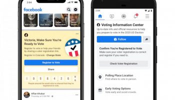 Facebook aims to help voters, but won't block Trump misinfo