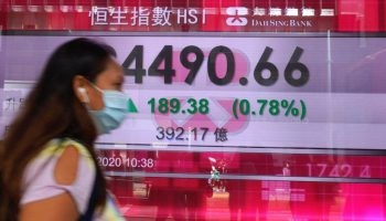 Global shares mixed amid worries over virus impact on growth