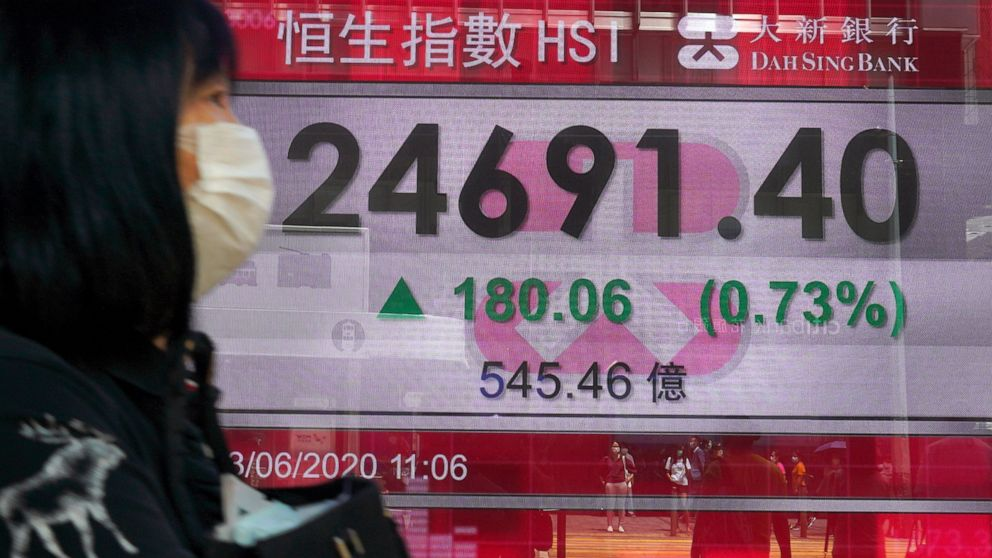 Stocks climb on Wall Street, heading for a 3rd monthly gain