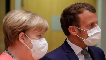 Far apart: EU holds masked budget summit in pandemic times