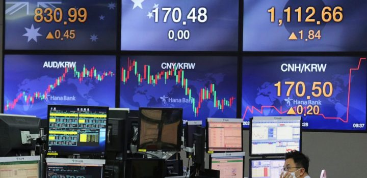 Global shares mixed as pandemic uncertainty squelches buying