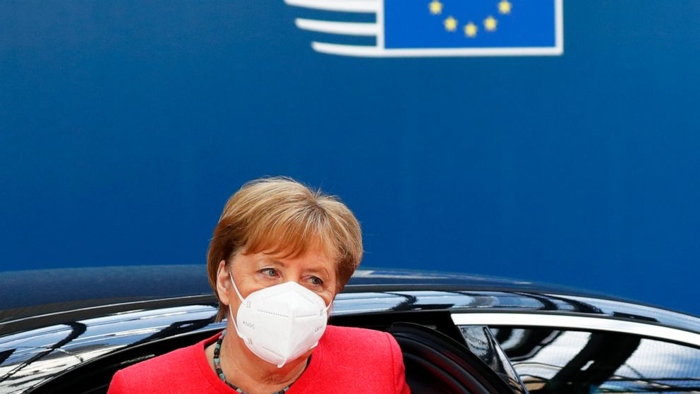 Insults, slammed fists: EU virus summit goes into 4th day
