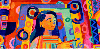 A Google Doodle in honor of