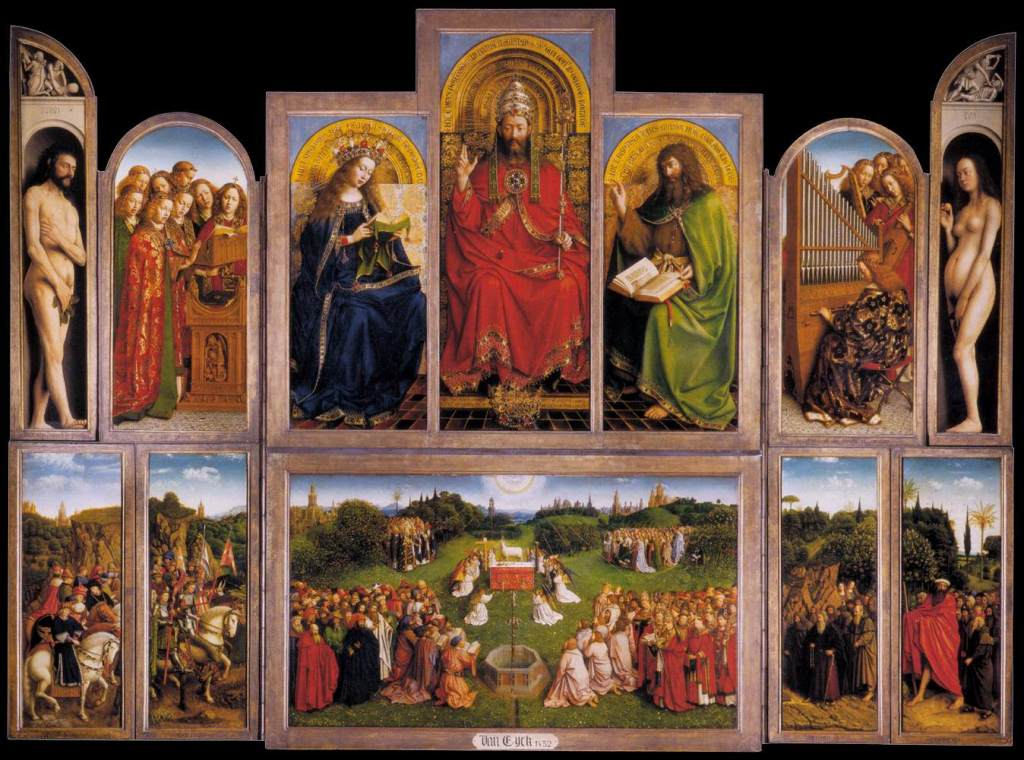 Ghent Altarpiece Restoration Deemed Accurate by Researchers – ARTnews.com