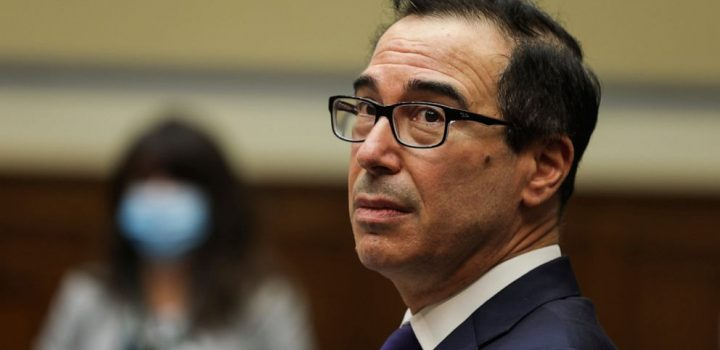 Mnuchin says Trump still wants virus deal with Democrats