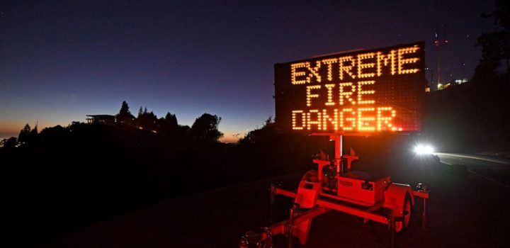 Utility says its equipment may have sparked California blaze