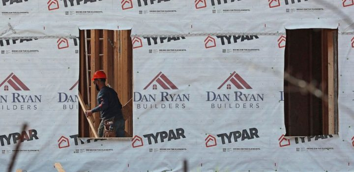 Home construction up 4.9% in October to 1.53 million