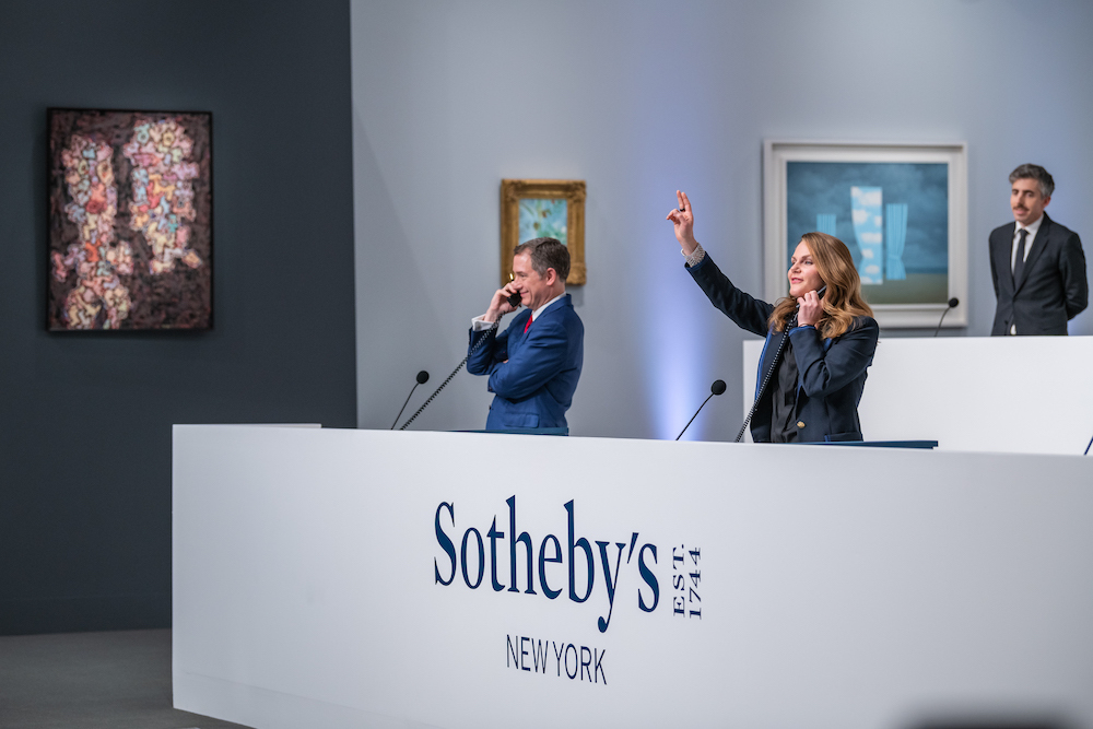 Sotheby's Sale Brings in $284 M., New Ghana Committee, & More Art News – ARTnews.com