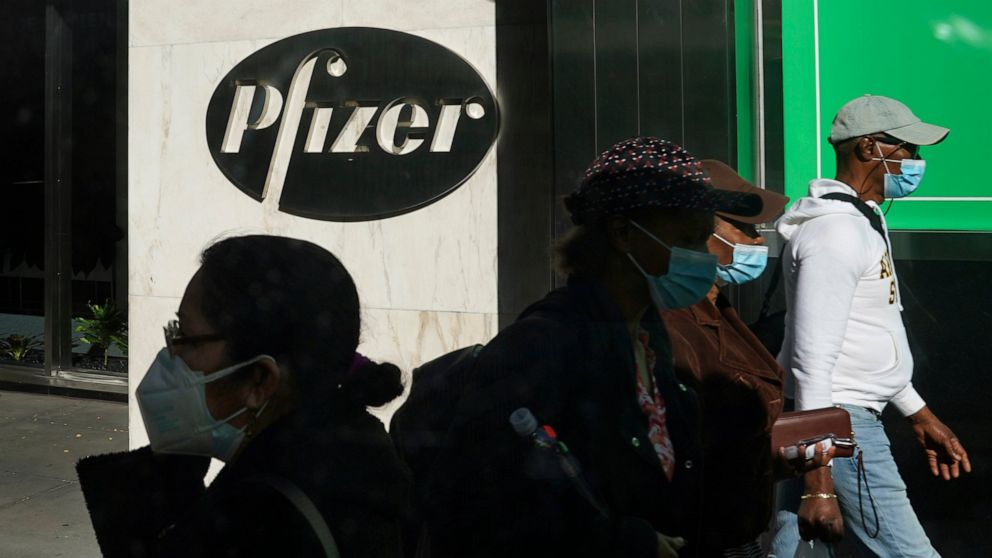 The Latest: Pfizer says it's communicating with Biden's team